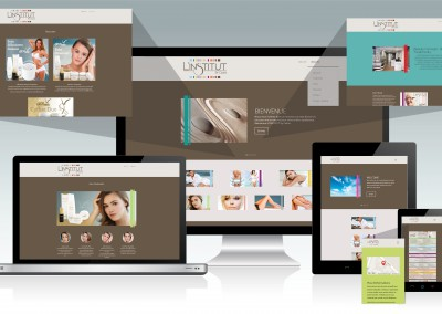 Site L'institut by Celine (Responsive)