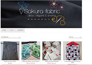 E-shop Sakura Fabric