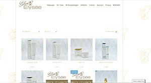 Webshop Salon Elysée